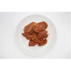 Pomidory suszone marynowane w oleju 1000 g - połówki